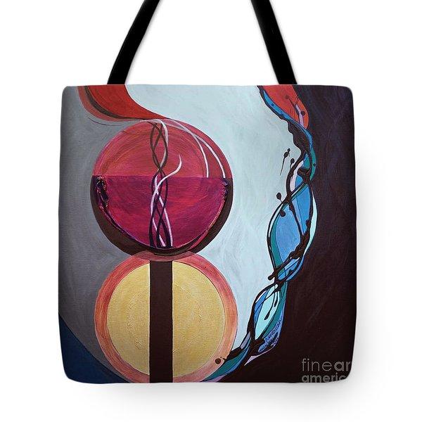 Havdallah...separation Tote Bag by Marlene Burns