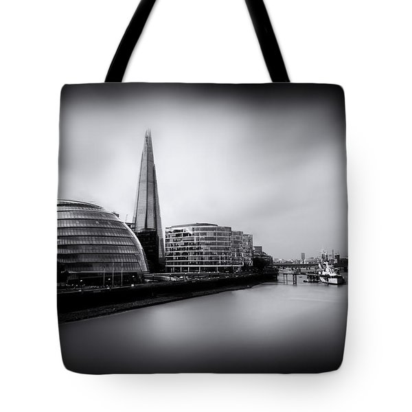 London City And The Shard.  Tote Bag by Ian Hufton