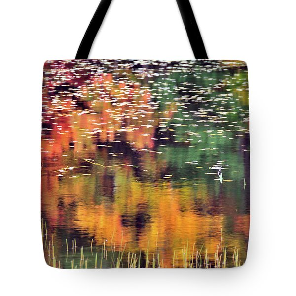New England Reflections Tote Bag by Betty LaRue