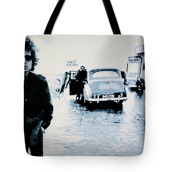 - No Direction Home - Tote Bag by Luis Ludzska