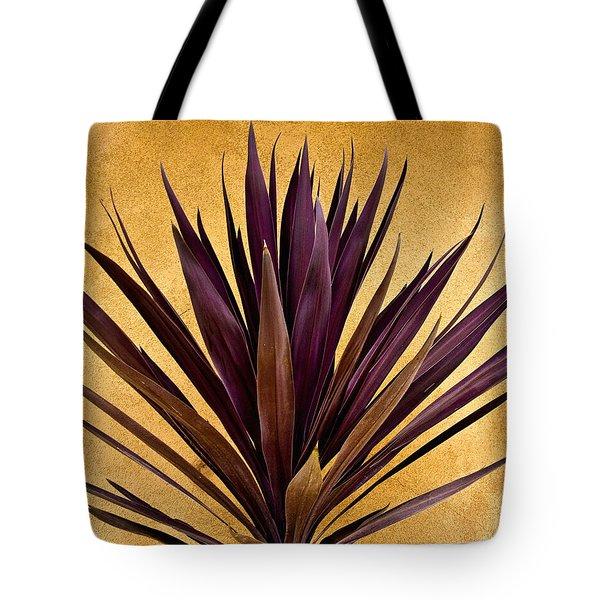 Purple Giant Dracaena Santa Fe Tote Bag by John Hansen