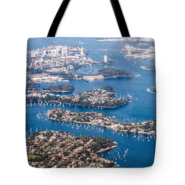 Sydney Vibes Tote Bag by Parker Cunningham