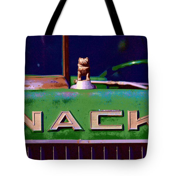 Wack Truck Tote Bag by William Jobes