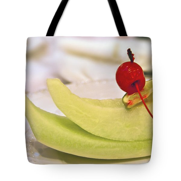 ... With A Cherry On Top Tote Bag by Evelina Kremsdorf