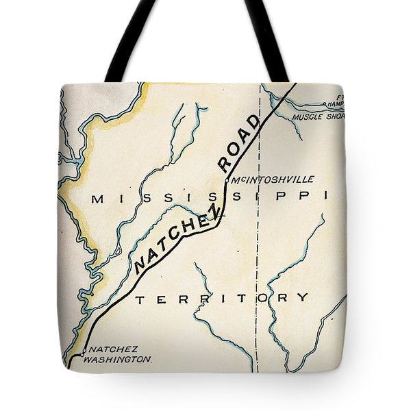 Natchez Trace, 1816 Tote Bag by Granger