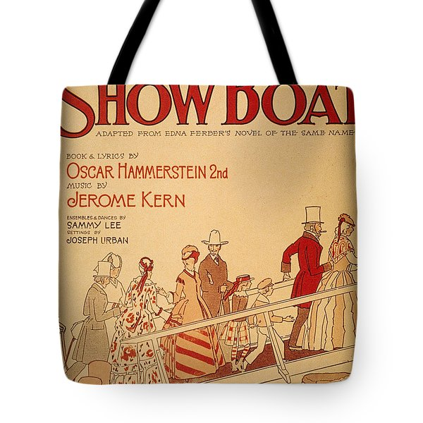 Show Boat Poster, 1927 Tote Bag by Granger