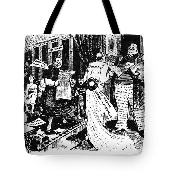 Press Cartoon, 1912 Tote Bag by Granger