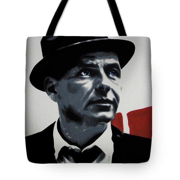 - Sinatra - Tote Bag by Luis Ludzska