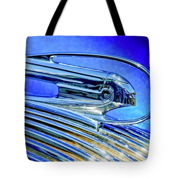 1936 Pontiac Hood Ornament 5 Tote Bag by Jill Reger