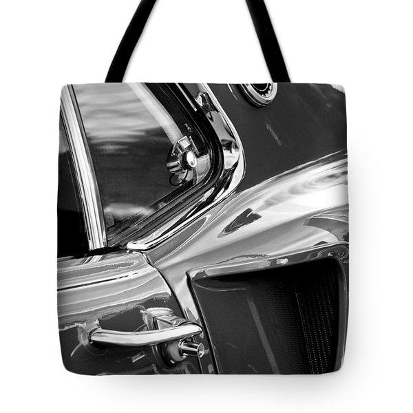 1969 Ford Mustang Mach 1 Side Scoop Tote Bag by Jill Reger