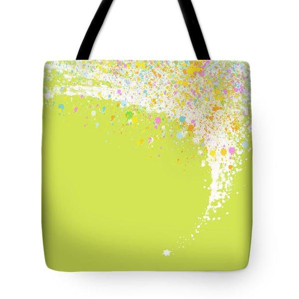Abstract curved Tote Bag by Setsiri Silapasuwanchai