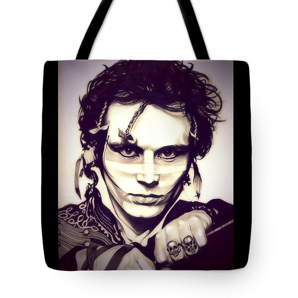 Adam Ant Tote Bag by Fred Larucci