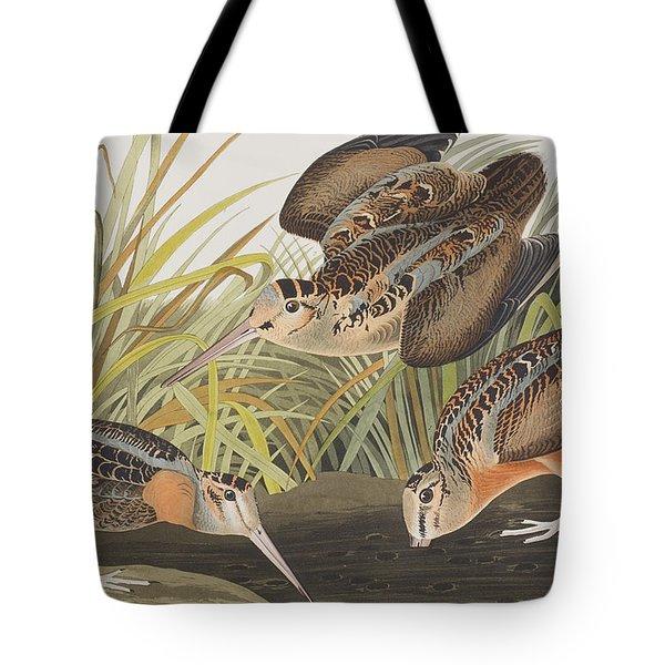 American Woodcock Tote Bag by John James Audubon