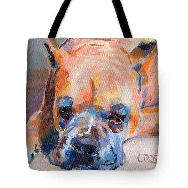 Andre Tote Bag by Kimberly Santini