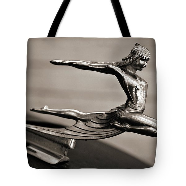 Art Deco Hood Ornament Tote Bag by Marilyn Hunt