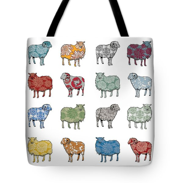 Baa Humbug Tote Bag by Sarah Hough