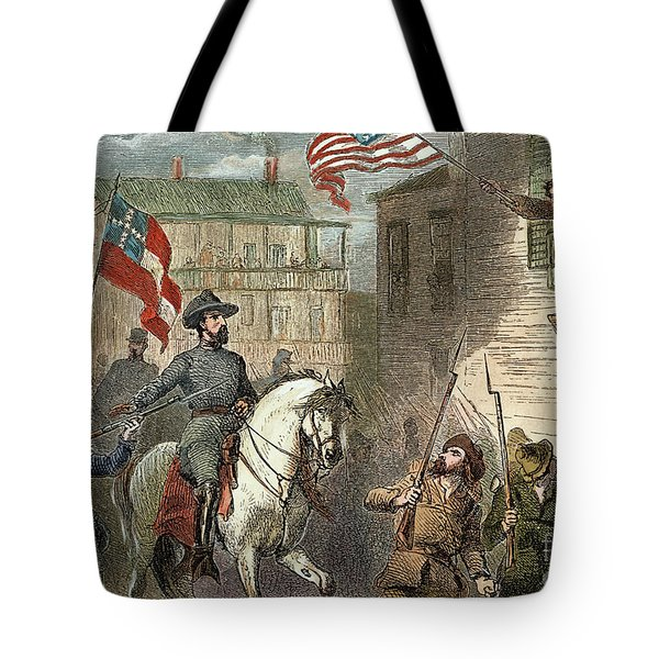 Barbara Frietschie Tote Bag by Granger