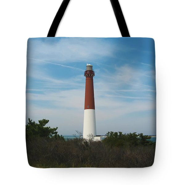 Barnegat Lighthouse - New Jersey Tote Bag by Bill Cannon