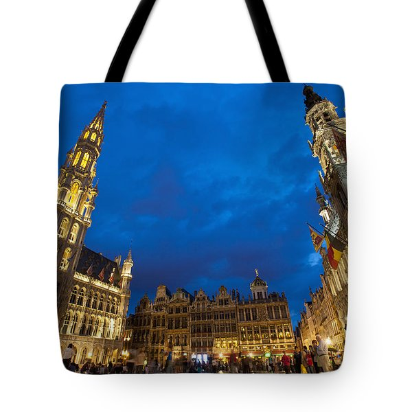 Brussels, Belgium Tote Bag by Axiom Photographic