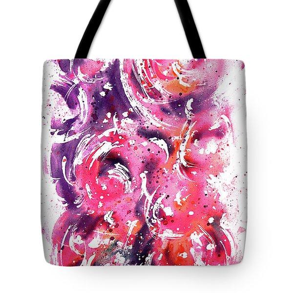Bubbles Tote Bag by Rachel Christine Nowicki