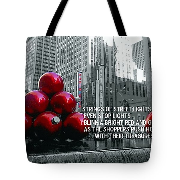 BUSY SIDEWALKS Tote Bag by JAMART Photography
