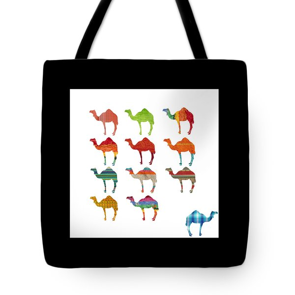 Camels Tote Bag by Art Spectrum