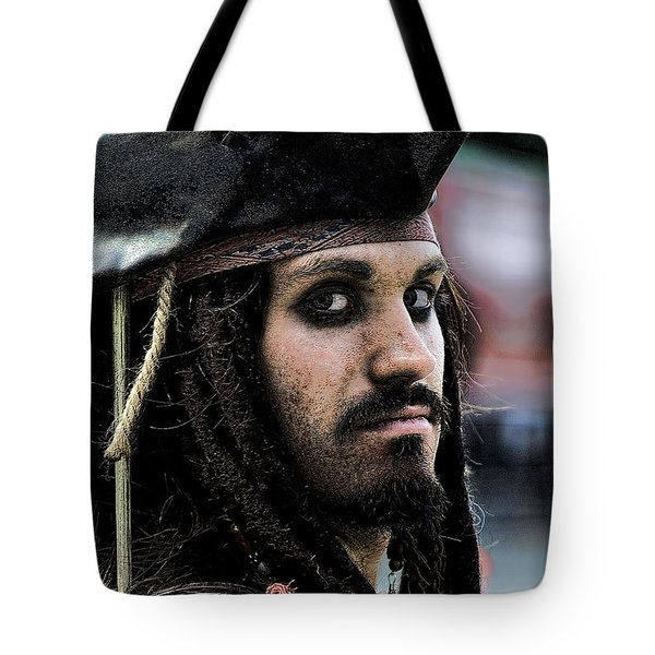 Captain Jack Tote Bag by David Patterson