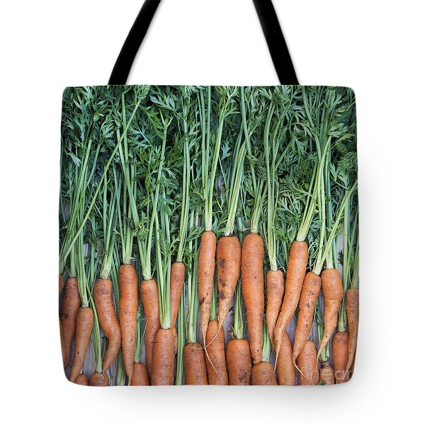 Carrots Tote Bag by Tim Gainey