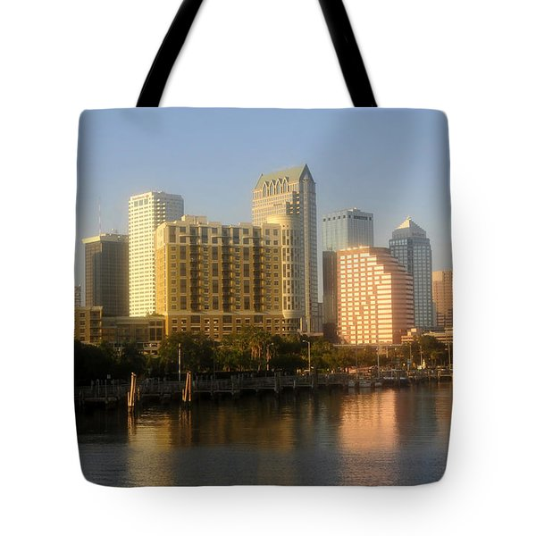 City By The Bay Tote Bag by David Lee Thompson