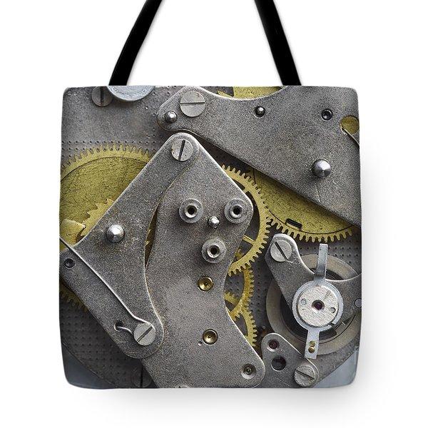 Clockwork Mechanism Tote Bag by Michal Boubin