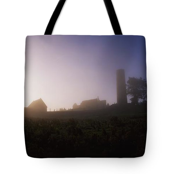 Clonmacnoise Monastery, County Offaly Tote Bag by The Irish Image Collection