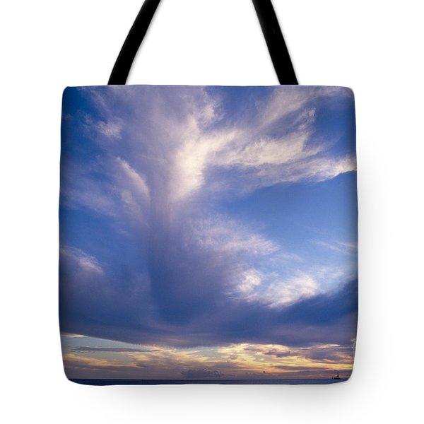 Cloud Formations Tote Bag by Mary Van de Ven - Printscapes