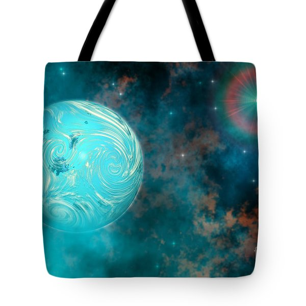 Coalescence Tote Bag by Corey Ford