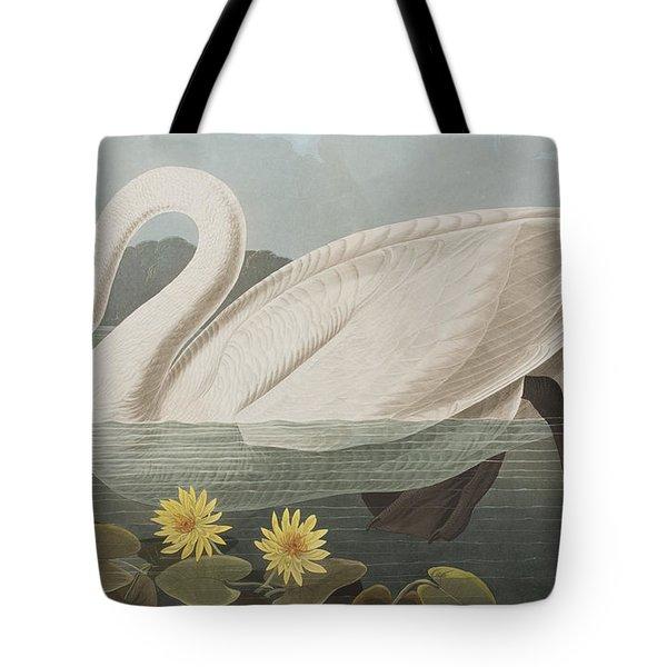 Common American Swan Tote Bag by John James Audubon