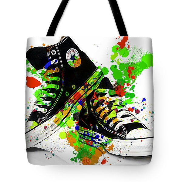 Converse All Stars Tote Bag by Marvin Blaine