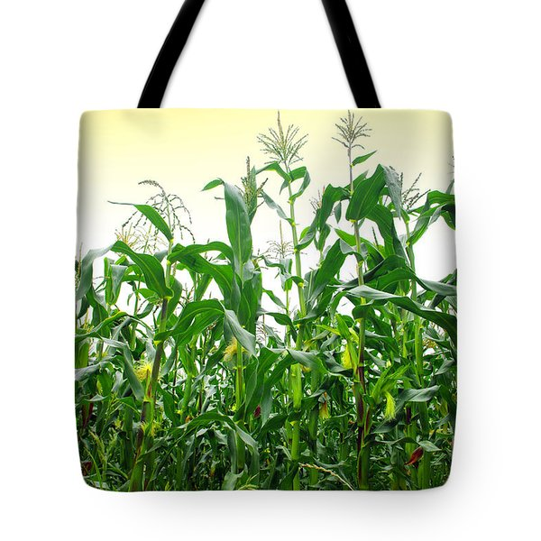 Corn Field Tote Bag by Carlos Caetano