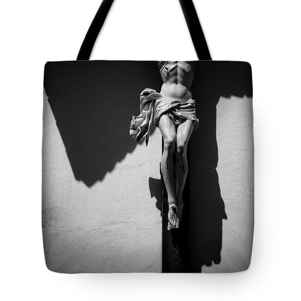 Crucifixion Tote Bag by Dave Bowman