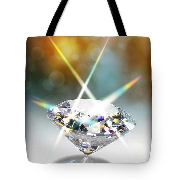 Diamond Tote Bag by ATIKETTA SANGASAENG