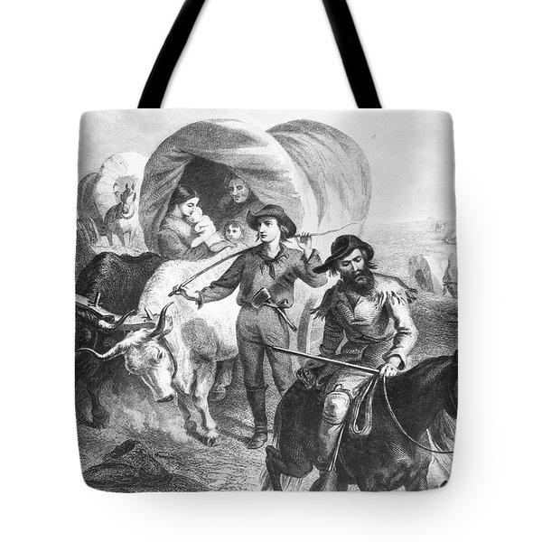 Emigrants To West, 1874 Tote Bag by Granger