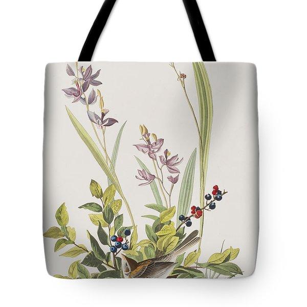 Field Sparrow Tote Bag by John James Audubon