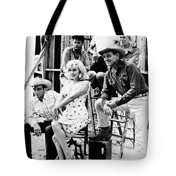 Film: The Misfits, 1961 Tote Bag by Granger