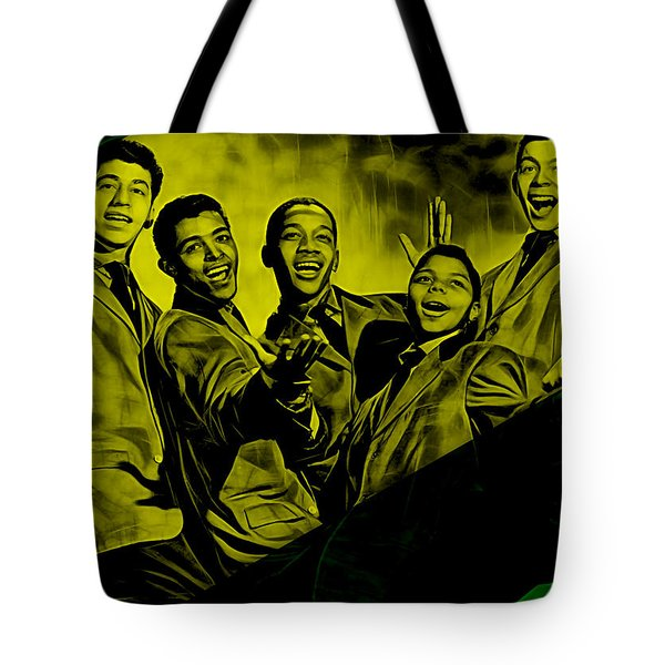Frankie Lymon Collection Tote Bag by Marvin Blaine