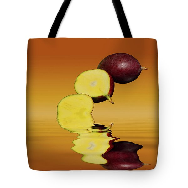 Fresh Ripe Mango Fruits Tote Bag by David French