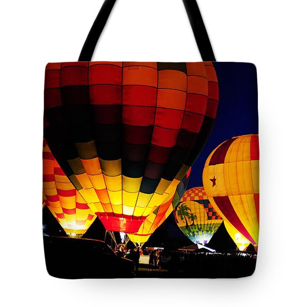 Glowing Tote Bag by Clayton Bruster