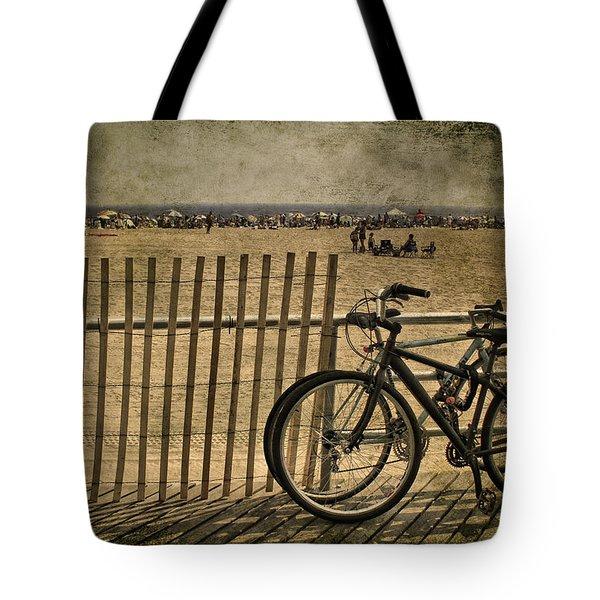 Gone Swimming Tote Bag by Evelina Kremsdorf