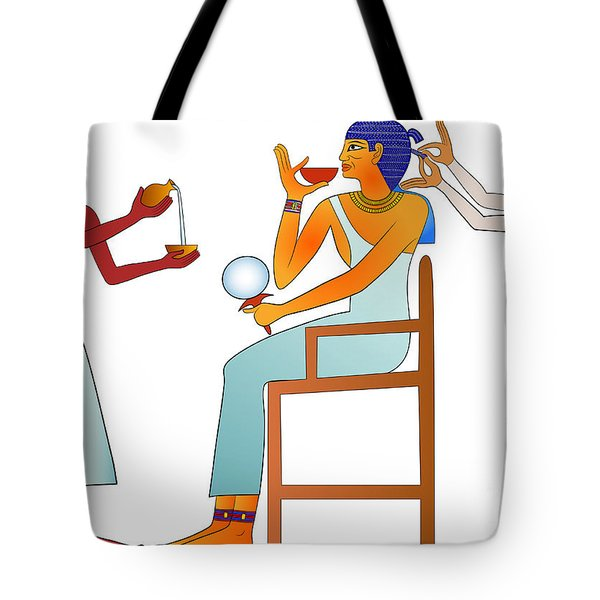 Hairdresser Tote Bag by Michal Boubin