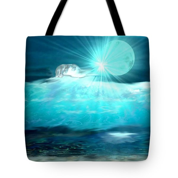 Hand Of God Tote Bag by Kelly Turner