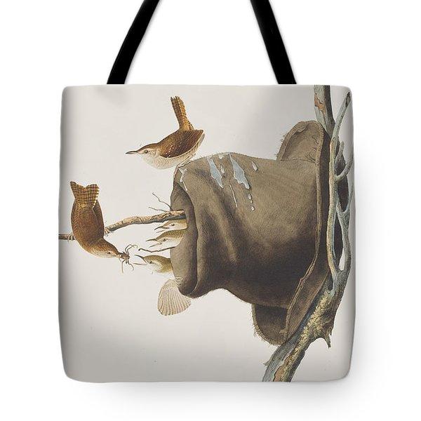 House Wren Tote Bag by John James Audubon