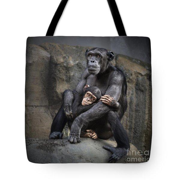 Hugs Tote Bag by Jamie Pham