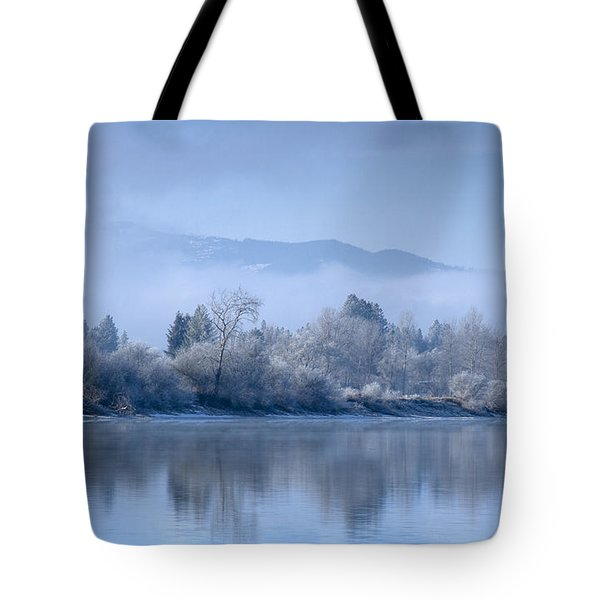 Icy Blue Tote Bag by Idaho Scenic Images Linda Lantzy